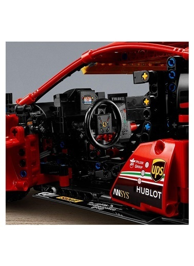 Lego 42125 Lego® Technic Ferrari 488 Gte /1677 Parça / +18 Yaş Renkli